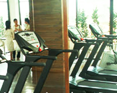 Fitness Center Studio Apartment 25 Sq.m. I-Residence Silom Hotel Bangkok