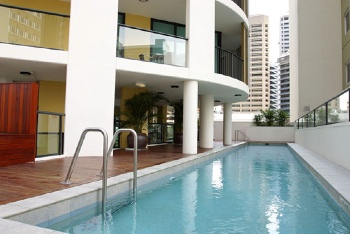 Swimming Pool 1-Bedroom Apartment 45 Sq.m. Quest River Park Central Serviced Apartments