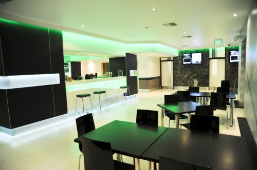 Restaurant 1-Bedroom Apartment 51 Sq.m. Quest Mansions Serviced Apartments
