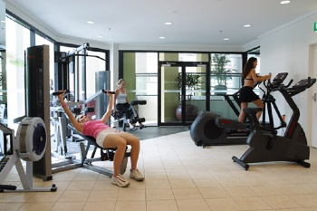 Fitness Center 1-Bedroom Apartment 45 Sq.m. Quest River Park Central Serviced Apartments
