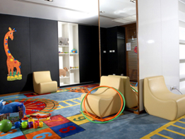 Kid Room 3-Bedroom Apartment 140 Sq.m. Fraser Suites Sukhumvit