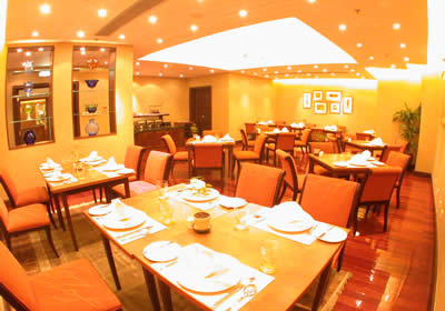 Restaurant Studio Apartment 60 Sq.m. Lee Garden Service Apartments Beijing