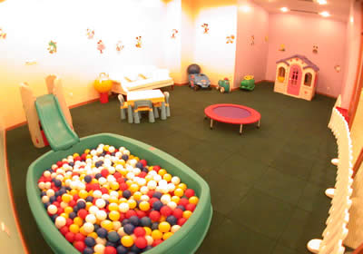 Playroom 3-Bedroom Apartment 237 Sq.m. Lee Garden Service Apartments Beijing