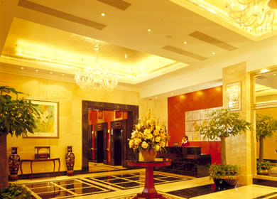 Lobby 2-Bedroom Apartment 166 Sq.m. Lee Garden Service Apartments Beijing