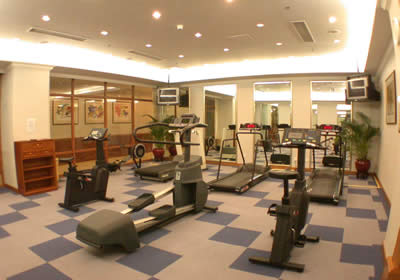 Gym 1-Bedroom Apartment 117 Sq.m. Lee Garden Service Apartments Beijing