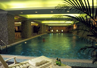 Swimming Pool 1-Bedroom Apartment 117 Sq.m. Lee Garden Service Apartments Beijing