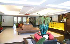 Lobby area Studio Apartment 40 Sq.m. Royal Orchid Resort