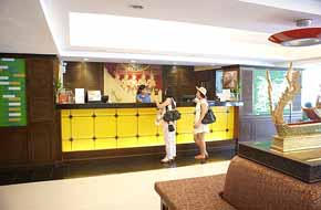 Reception Studio Apartment 40 Sq.m. Royal Orchid Resort