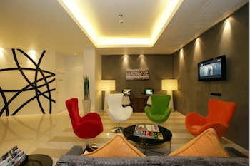 Lobby with Free Internet Studio Apartment 27 Sq.m. Legacy Express Bangkok