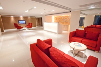 Lobby 1-Bedroom Apartment 45 Sq.m. Ramada Hotel & Suite