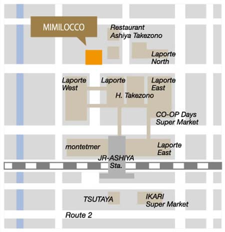 Location Map 2-Bedroom Apartment 173 Sq.m. Mimi Locco