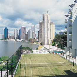 Tennis Court Studio Apartment 0 Sq.m. Medina Executive Brisbane Apartments