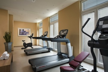 Gym 1-Bedroom Apartment 40 Sq.m. Citadines Munich Arnulfpark