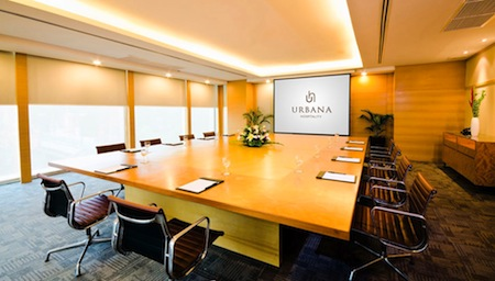 Meeting Room 2-Bedroom Apartment 119 Sq.m. Urbana Sathorn, Bangkok