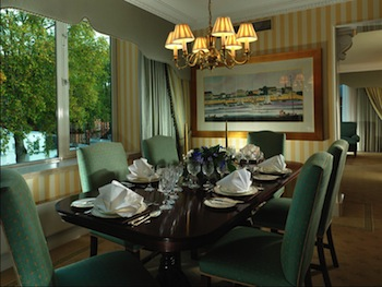 Dining Area 4-Bedroom Apartment 269 Sq.m. Cheval Thorney Court Apartments