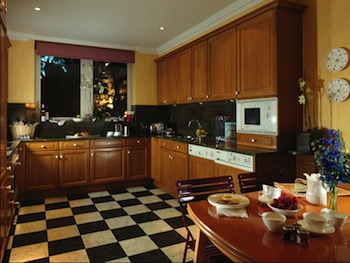 Kitchen 3-Bedroom Apartment 204 Sq.m. Cheval Thorney Court Apartments