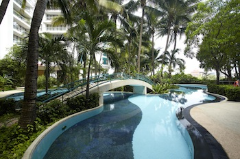 Swimming Pool 1-Bedroom Apartment 70 Sq.m. Chatrium Residence Bangkok - Sathon