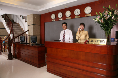 Reception area Studio Apartment 32 Sq.m. Le Hotel Hanoi