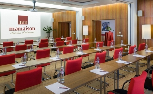 Meeting room 1-Bedroom Apartment 40 Sq.m. Mamaison Hotel Riverside Prague