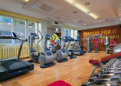 Fitness 1-Bedroom Apartment 73 Sq.m. Sheraton Prague Charles Square Hotel