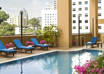 Swimming Pool 1-Bedroom Apartment 60 Sq.m. Somerset Seri Bukit Ceylon