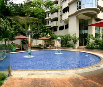 Swimming Pool 3-Bedroom Apartment 165 Sq.m. Sri Tiara Residences