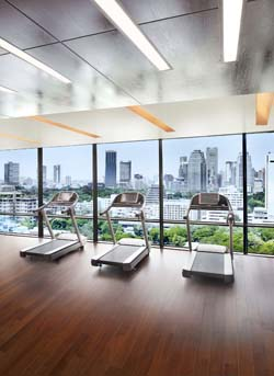 Fitness Center 1-Bedroom Apartment 102 Sq.m. The St.Regis Bangkok