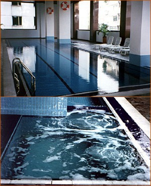 Swimming Pool 1-Bedroom Apartment 110 Sq.m. The Maple Suite