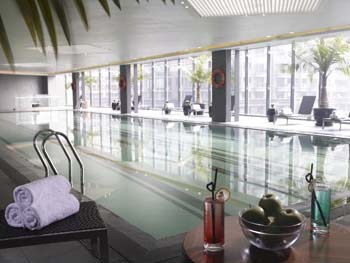 Swimming Pool 2-Bedroom Apartment 91 Sq.m. Oakwood Residence Hangzhou