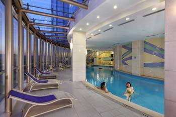 Swimming Pool 1-Bedroom Apartment 60 Sq.m. Ariva Beijing West Hotel & Serviced Apartment