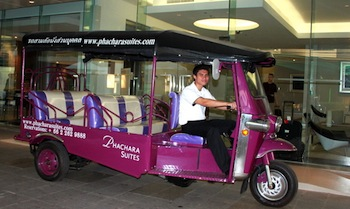 Tuk-Tuk Shuttle 2-Bedroom Apartment 140 Sq.m. Phachara Suites