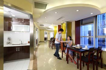 Viva Kitchen 1-Bedroom Apartment 60 Sq.m. Ariva Beijing West Hotel & Serviced Apartment