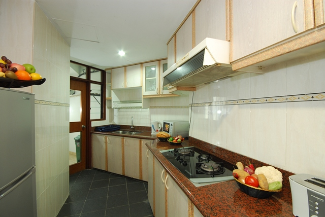 Kitchen 2-Bedroom Apartment 98 Sq.m. Kuala Lumpur Bistari Service Apartment