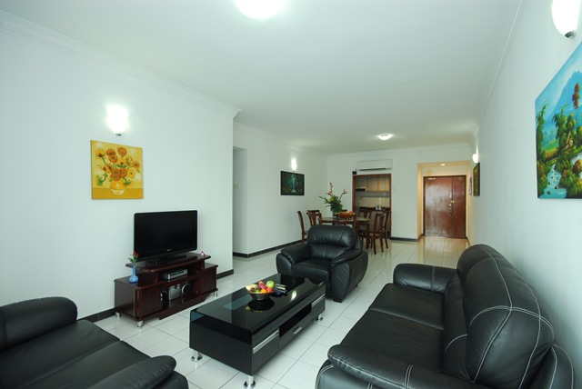 Living Room 2-Bedroom Apartment 98 Sq.m. Kuala Lumpur Bistari Service Apartment