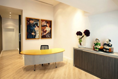 Reception Area Serviced Offices Apartment 0 Sq.m. WORKSMART Offices