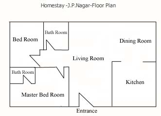 Floor Plans - Two Bedroom Apartment 