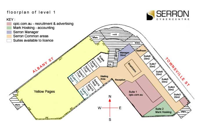 serron-floor-plan2 Serviced Offices Apartment 0 Sq.m. Serron Cyber Centre