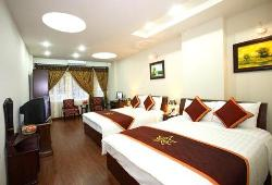 Duluxe Room Studio Apartment 25 Sq.m. Hanoi Wing Cafe Hotel