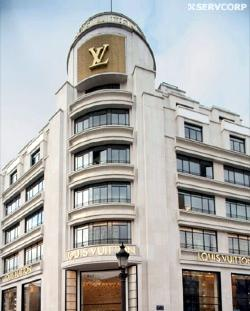 Louis Vuitton Building, Paris, Paris