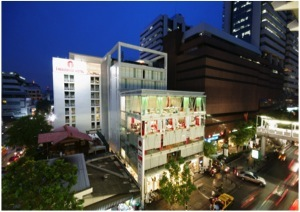Main Picture Studio Apartment 25 Sq.m. I-Residence Silom Hotel Bangkok