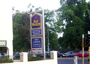 Exterior Studio Apartment 45 Sq.m. Melbourne Princes Park Motel Inn