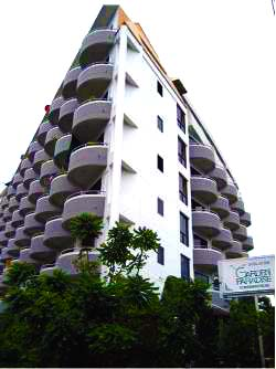 Building Studio Apartment 27 Sq.m. Garden Paradise Pattaya