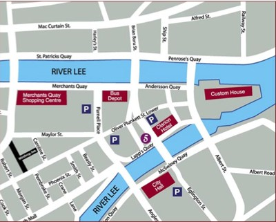 Location Map Serviced Offices Apartment 0 Sq.m. No. 5 Lapps Quay