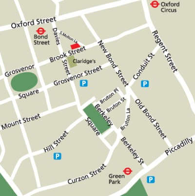 Location Map Serviced Offices Apartment 0 Sq.m. 42 Brook Street