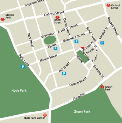 Location Map Serviced Offices Apartment 0 Sq.m. Berkeley Square