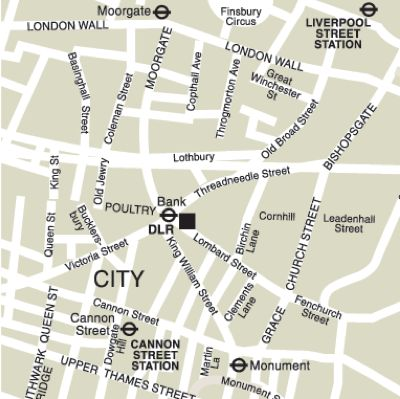 Location Map Serviced Offices Apartment 0 Sq.m. Cornhill