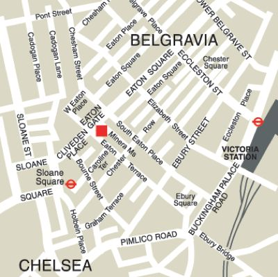 Location Map Serviced Offices Apartment 0 Sq.m. Eaton Gate