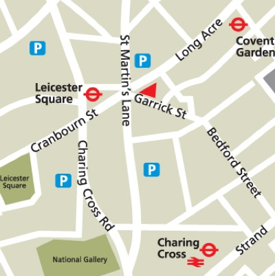 Location Map Serviced Offices Apartment 0 Sq.m. Garrick Street