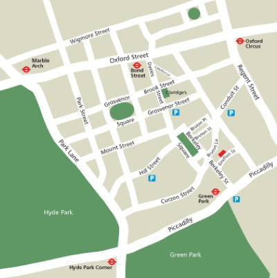 Location Map Serviced Offices Apartment 0 Sq.m. Grafton Street