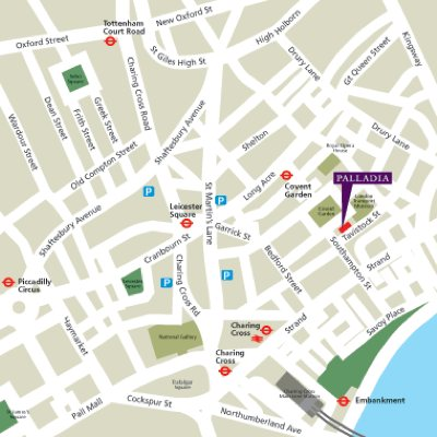 Location Map Serviced Offices Apartment 0 Sq.m. Hudson House